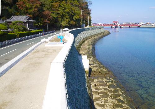河川堤防工事