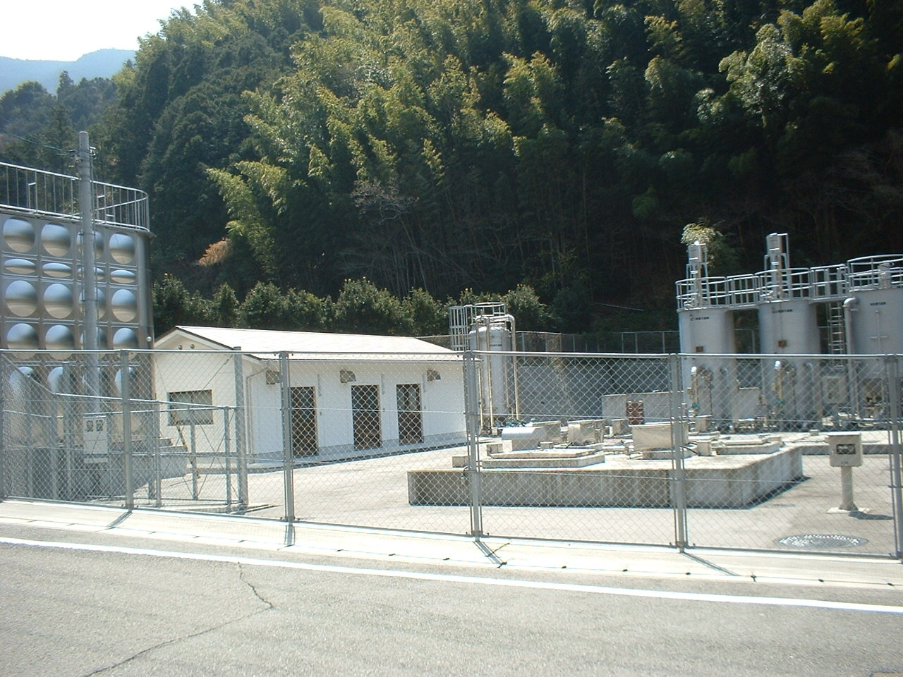 豊田簡易水道奥西浄水場