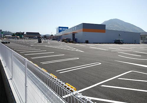 駐車場舗装新設工事
