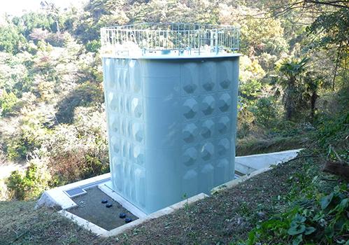 水道配水池工事